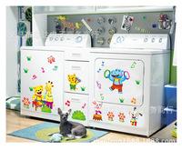 Детская комната мебель украшения Стеклянные шкафы ванной туалет наклейки xy3011