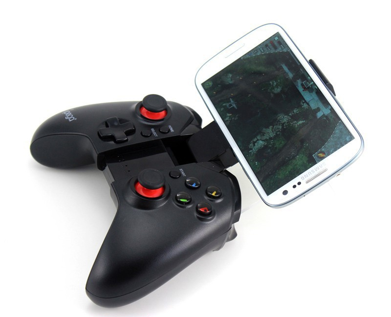 New Hot Sale joystick pc gamepad ipega 9037 wireless bluetooth game controller gamepad android for ps3 controller wireless(China (Mainland))