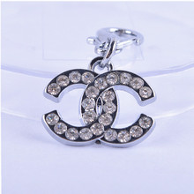 Fashion Rhinestone Accessories Pendant Collar Charm Pet Products For Animals Dog ID Tag