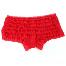 Girl Slim Lace Ruffle Pleated Panty Sexy Cozy Knicker Underwear Briefs Thong