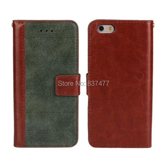 Retro Vintage Stand Matt Wallet Leather Cover Case iPhone 6 card slot - Shenzhen Lili Trade Co Ltd store