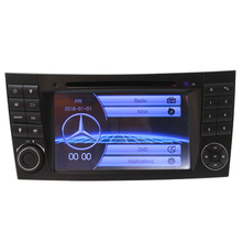wince6.0 double din steering wheel control Mercedes W211 multimedia Bluetooth Car dvd radio audio gps navigation CD function - car shop Store store