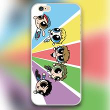 Cartoon comic five hero Design black skin case cover cell mobile phone cases for iphone 4 4s 5 5c 5s 6 6s 6plus hard shell