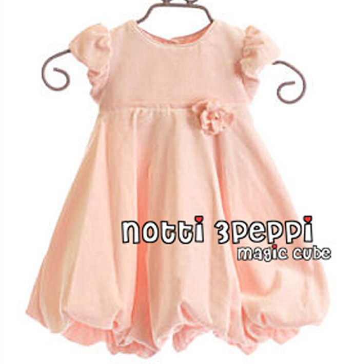 Toddler girl dress elegant imported Baby girl dress