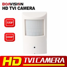 "Buy CCTV 2MP HD TVI Camera PIR Style 1/3"" CMOS 0.01 Lux 3.7mm Lens Security Mini 720P HDTVI Camera Indoor Use BOAVISION for $25.55 in AliExpress store"