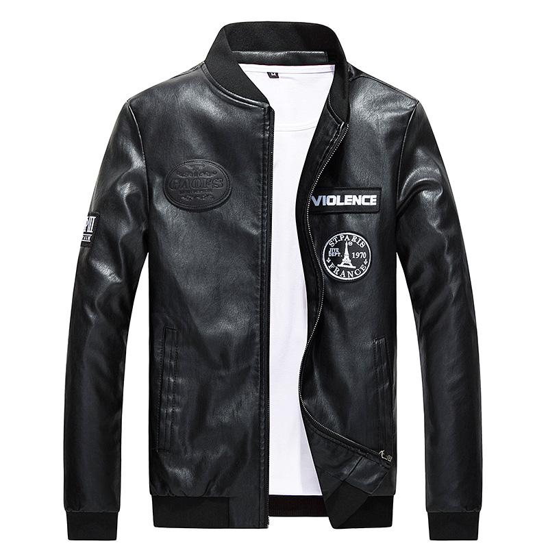 Black Skin Jacket JuQWeO