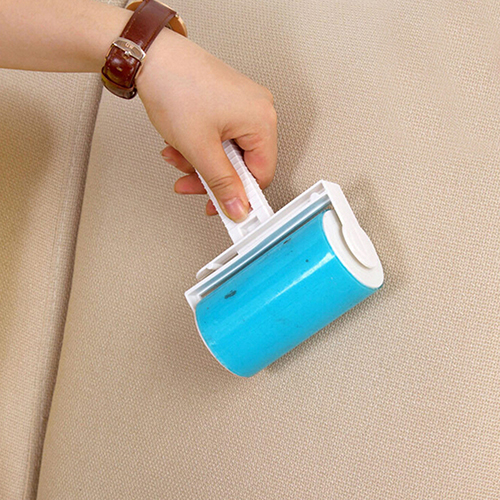 New Hot Sale Washable Home Sheet Pet Hair Dust Remover Clothes Cleaning Sticky Lint Roller 7UK A728(China (Mainland))