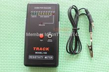 Surface Resistance Resistivity Meter Electrostatic Static Electricity Tester ESD free shipping(China (Mainland))