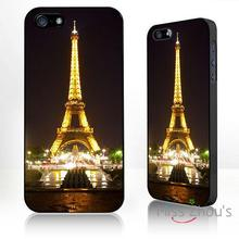 For iphone 4/4s 5/5s 5c SE 6/6s plus ipod touch 4/5/6 back skins mobile cellphone cases cover Eiffel Tower Paris famous landmark