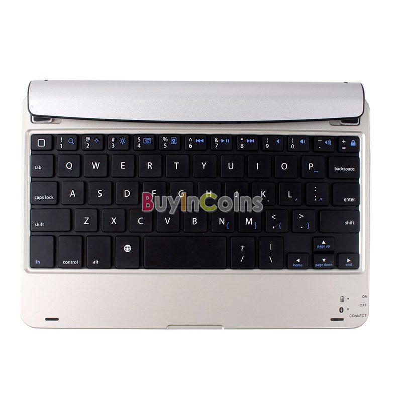 Magnetic Gaming Colorful Wireless Bluetooth Keyboard for ipad mini US AS #54875(China (Mainland))