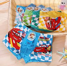 2015 hot sale the cartoon cool children modal cotton boxer underwear boy pants for children kids pants super quality  (NT-020(China (Mainland))