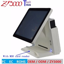 Buy new stock I5 4200 15 inch capacitive touch Screen one POS Terminal MSR card reader VFD customer display Co.,Ltd) for $565.00 in AliExpress store