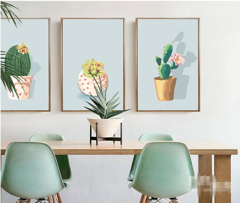Photos cactus promotion achetez des photos cactus for Image encadree decoration