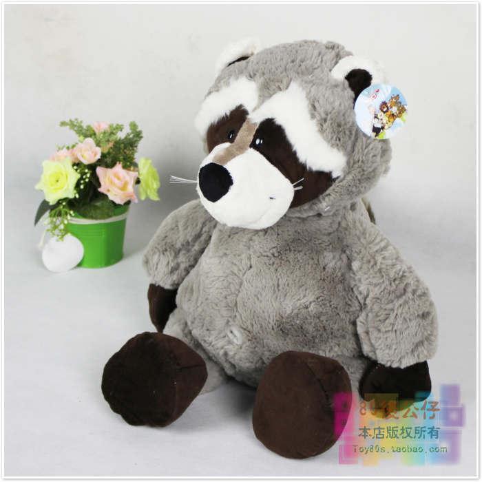 Nici plush 45cm lovely raccoon plush toy doll gift w5022(China (Mainland))