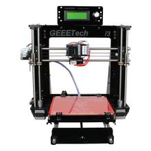 Updated Transparent Acrylic Frame Reprap Prusa I3 Desktop 3D Printer Machine High Precision Impressora DIY Kit