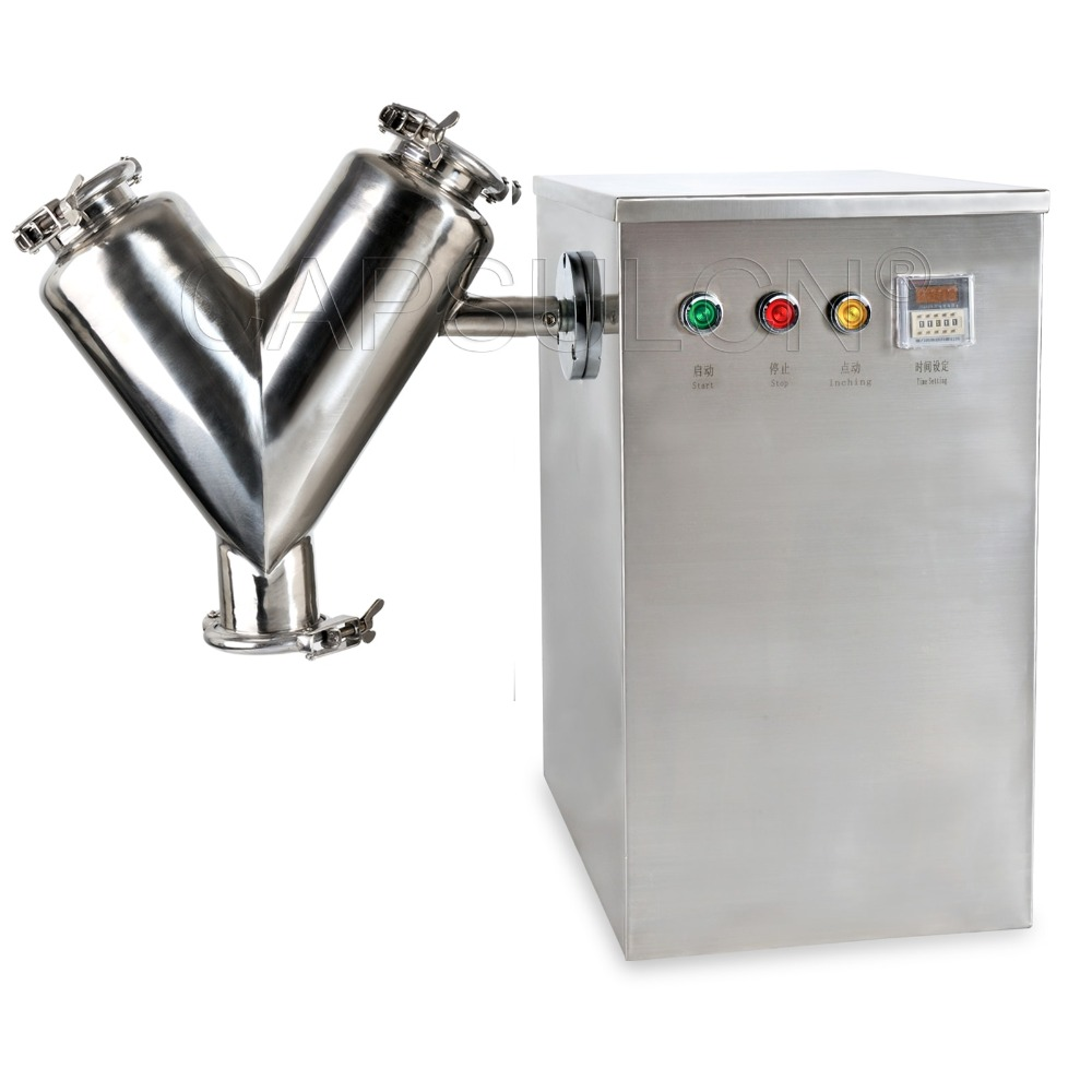 V shape powder mixing machine,Powder Blending Machine V-5 Type 110V(China (Mainland))