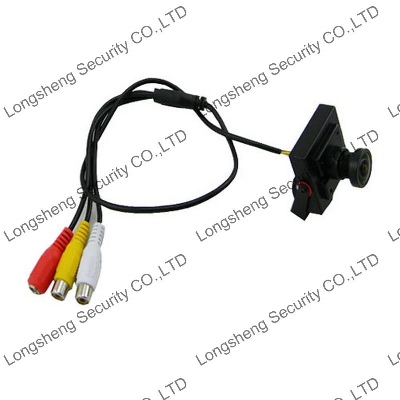 Mini HD 700TVL 2.1mm Wide Angle Sony Effio-E Security Audio/Video Color CCTV Camera with MIC(China (Mainland))