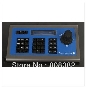 New 3D PTZ Axis joystick controller keyboard Controller for sony video Home system Spped Dome Camera VISCA