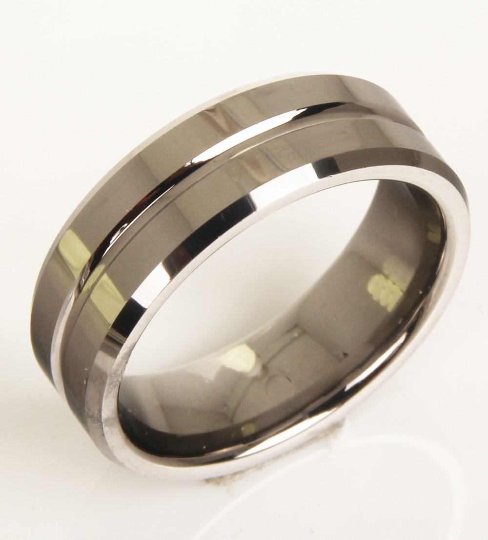 tungsten ring men jewel matching wedding ring size 8 9 10 11 12