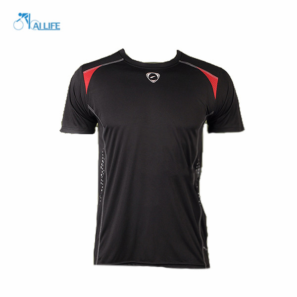 High Quality Men Jersey Sports Quick Dry Fitness Compression Short Sleeve Drying Outdoor Fashion Jerseys(China (Mainland))