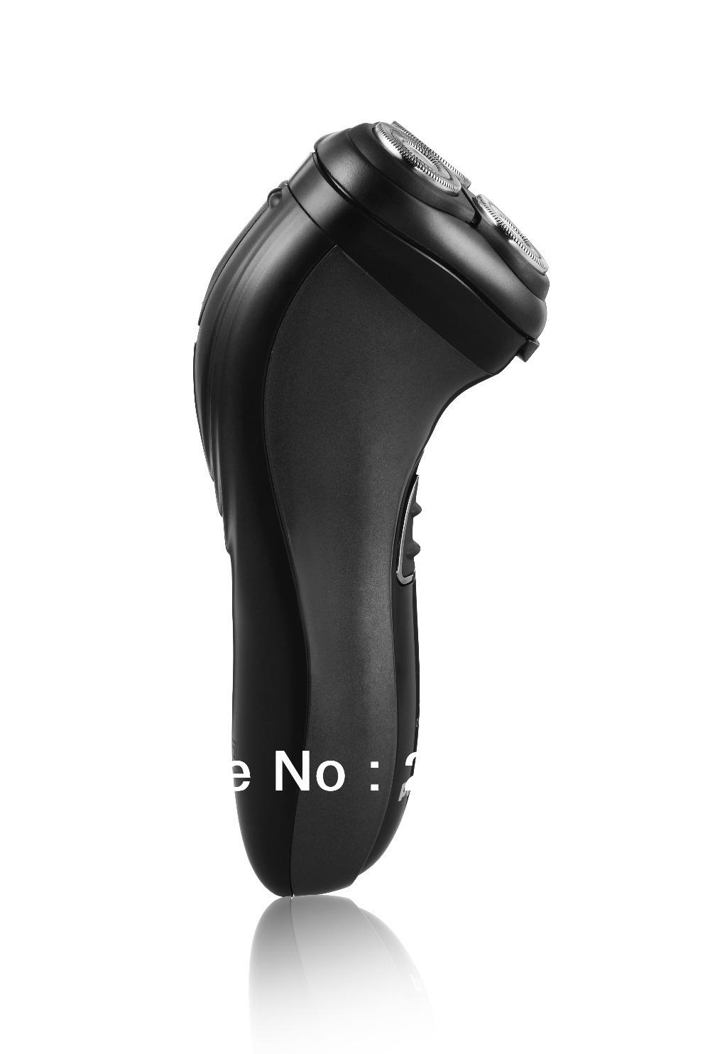 Новый povos Электробритва для мужчин лицо уход Аккумуляторная роторные бритвы тройной лезвие бритвы триммер pq7200 220В