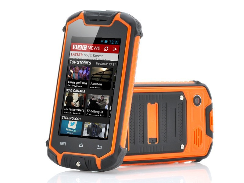 Mini Discovery Z18 Waterproof Rugged Cell Phone MTK6572 Dual Core  Mini Discovery V5 Android Mobile Phone Multi Languages