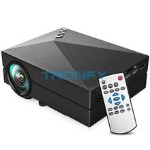 Auf Lager gm60 mini-projektor lcd 1000lm 1920 x 1080 Auflösung av usb 2.0 hdmi vga sd hause Theater kino projektor overheadprojektor(China (Mainland))