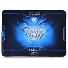 Fashion Aula Coat Armor Style 400*320*3mm Gaming Mouse Pad Control/Speed Version Anti-skid Mat for Home Office(China (Mainland))