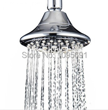 Free shipping High quality Top ABS Mirror polishing shower head 5 function Chrome plated Top spray shower bathroom accessory(China (Mainland))