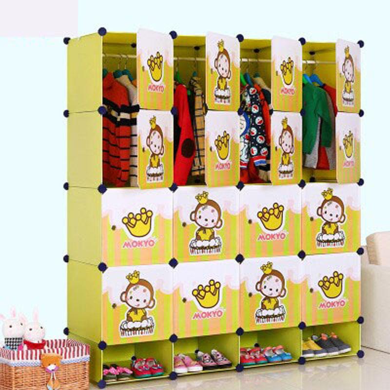 Xia tong tong de dibujos animados vestuario sencillo ikea de ropa para ni os de almacenamiento - Ikea almacenamiento ninos ...