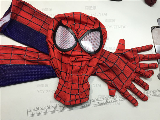 1 set 2016 marvel halloween The Amazing SpiderMan Fabric Adult Costume Mask lenses lens&amp;spiderman glovesОдежда и ак�е��уары<br><br><br>Aliexpress