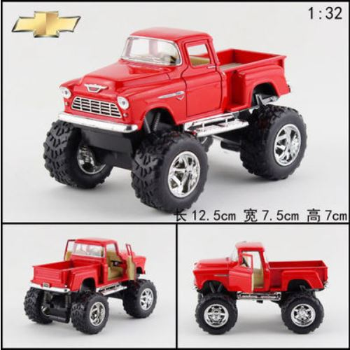 Bigfoot Pickup trucks big wheel alloy car model four colors kids toys for children scale models toy cars diecasts toy vehicles(China (Mainland))