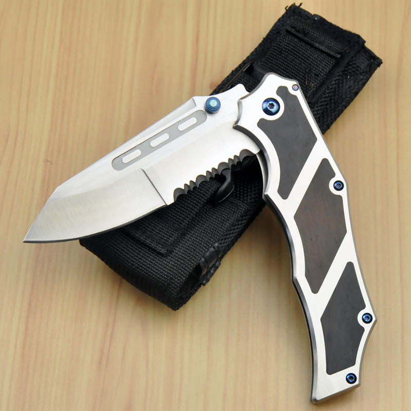 Brand new microtech hunting knife camping knives karambit survival folding knife D 2 blade tactical knife