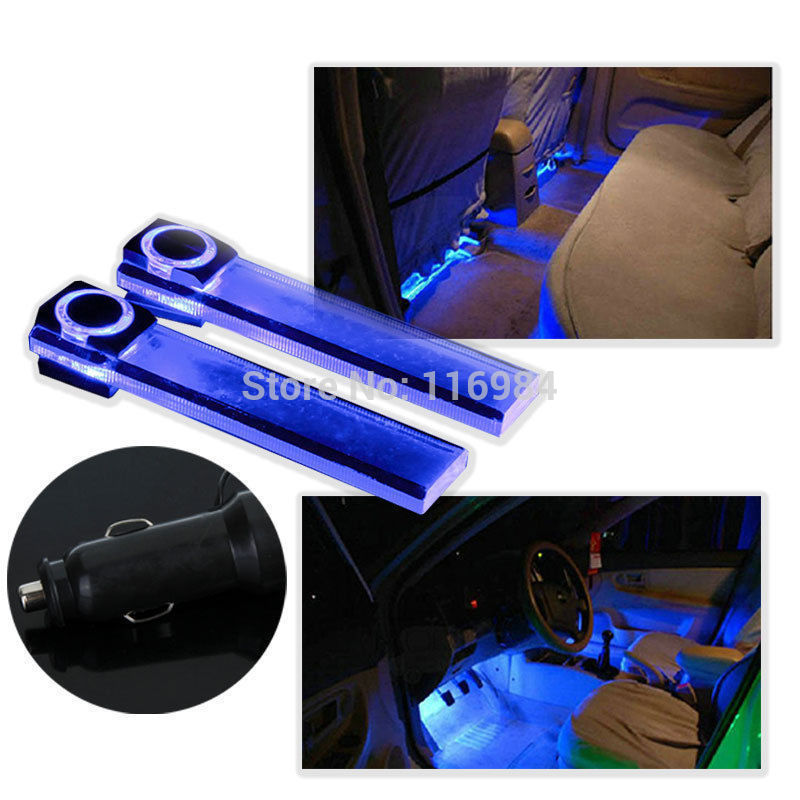 Koop 12 v 4led auto auto interieur sfeer for Interieur verlichting auto