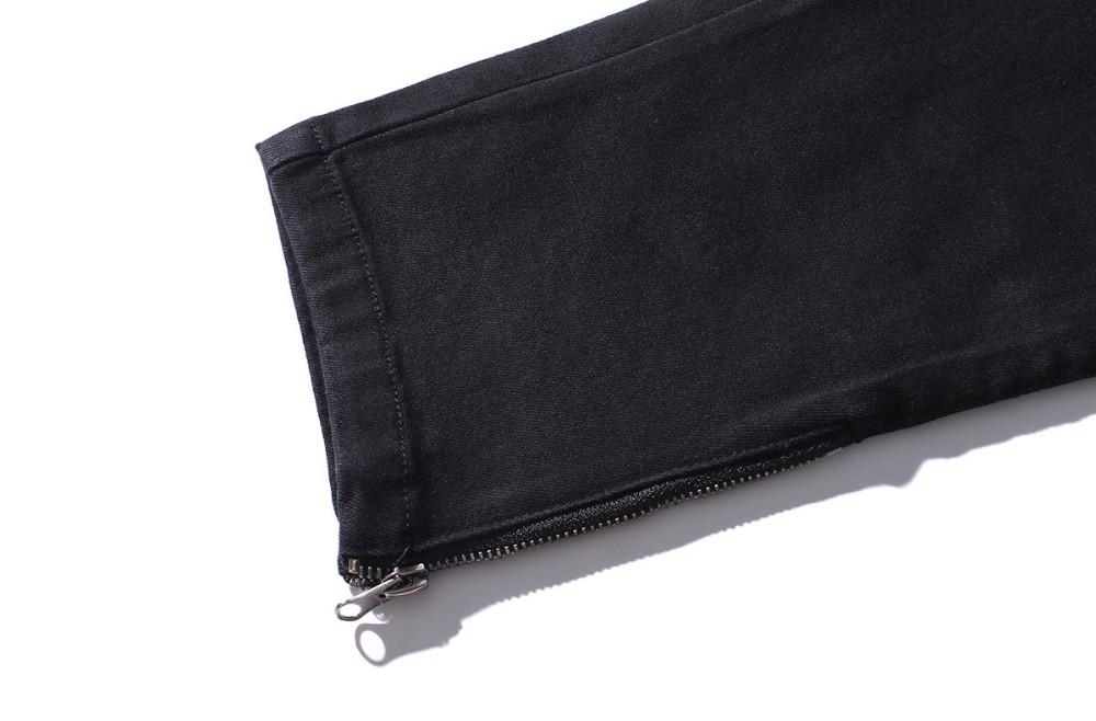 Скидки на Роман Мужчин Джинсы Новое Прибытие Дизайн Slim Fit Модные Джинсы Для Мужчин Высококачественных Синий Черный Y2031