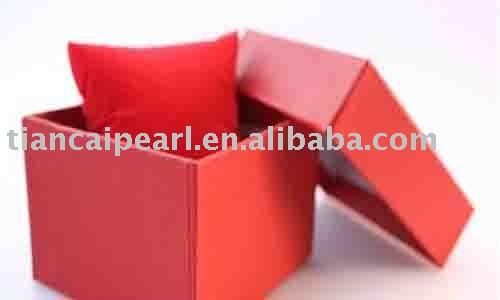8.5x8.5x5.5cm Jewelry Box Gift Box Fit Necklace&Bracelet&Pendant&Earring&Ring&Set(China (Mainland))