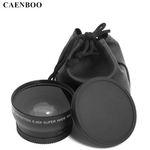 Buy CAENBOO 0.45x55mm 58mm 62mm 67mm 72mm Wide Angle Macro Lens Wide-Angle Camera Lens Canon EOS Nikon Sony Lens Accessories for $18.38 in AliExpress store