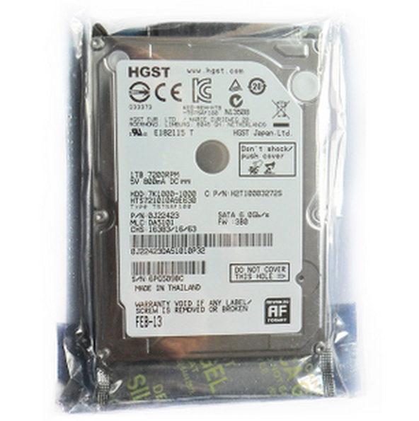 new computer 1TB 1000GB laptop notebook hard disk drive 7200rpm 32M 2.5 inch 9.5mm HTS721010A9E630 free Shipping(China (Mainland))