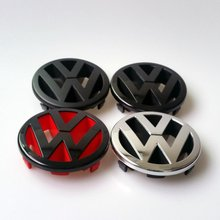 Car Styling Parts for VW Golf 5 MK5 Front Grille Badge LOGO Matt Black / Glossy Red Black Color Emblem for MK5 1TO853601A(China (Mainland))