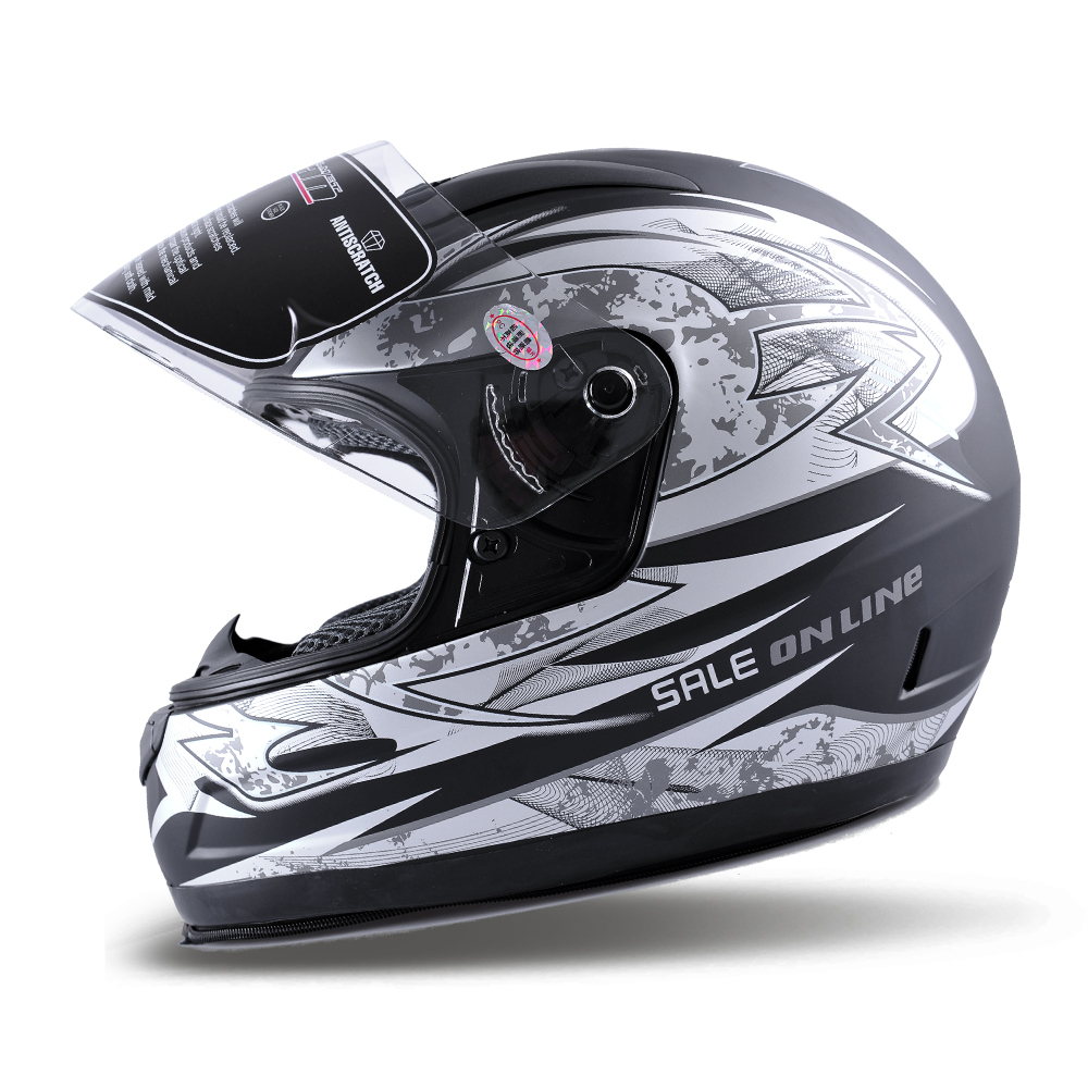EMS Top T8828 Motorcycle Helmet Electric Bicycle Helmets Adult Size Anti-fog Lens S7105 - E-Level Gift Limited store