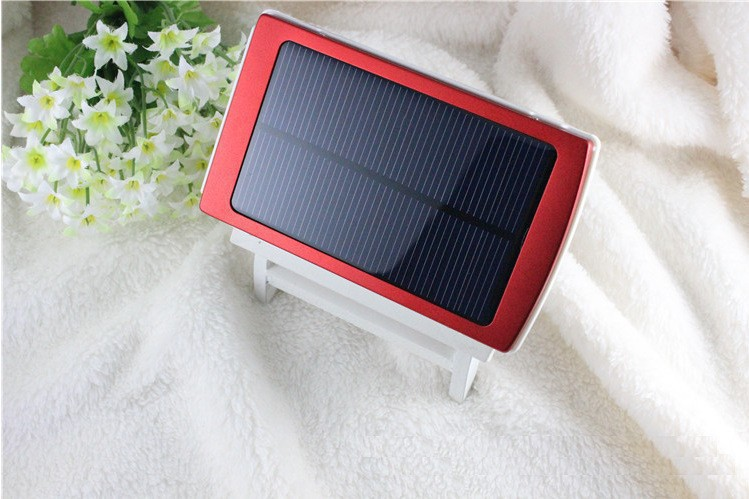 1PC/Lot Solar Power Bank 50000 mAh external battery Portable Charger for iPhone5 5s 4 4/Samsung galaxy s4 s3/xiaomi(China (Mainland))