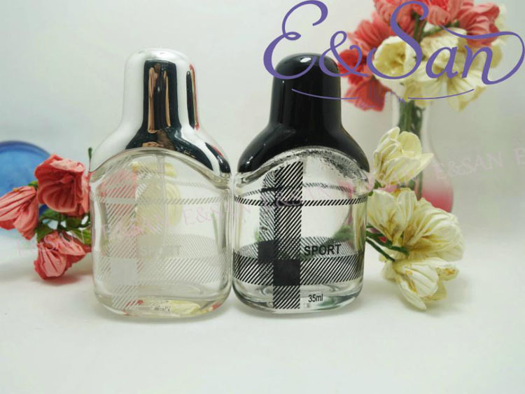 New Refillable Perfume Spray Bottle 30ML Glass Empty Perfume Bottle Portable Travel Atomizer With PT034-30ML