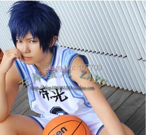 Kuroko s Basketball Aomine Daiki 35CM Short font b Hair b font font b Wig b