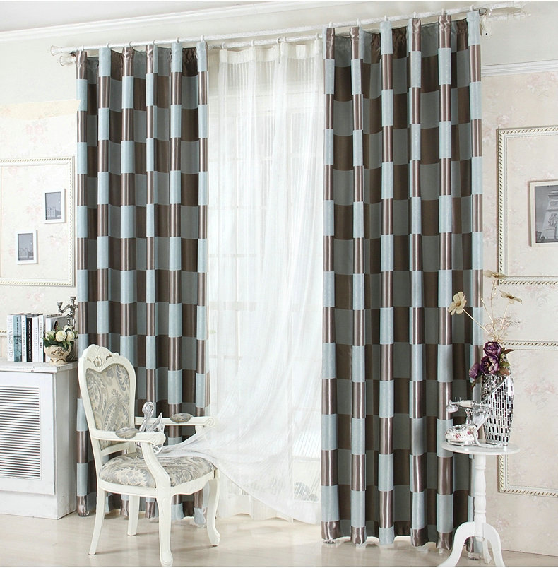 On Sale Blackout Curtains For Living Room Black White