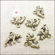 Buy Wholesale 100 pcs Vintage Charms Bear Pendant Antique bronze Fit Bracelets Necklace DIY Metal Jewelry Making for $4.41 in AliExpress store