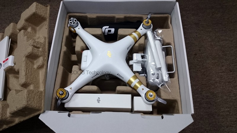Original DJI Phantom 3 4K with Original DJI Hardshell Backpack Drone FPV RC Quadcopter with 4K Camera RC helicopter DHL Free