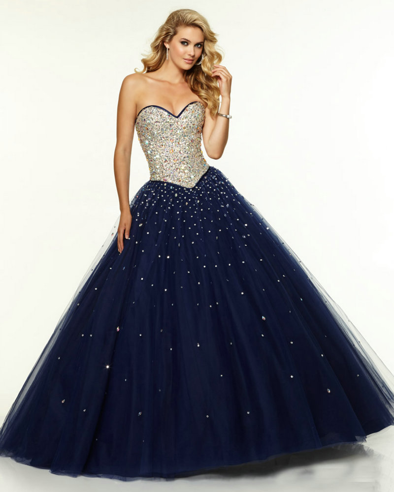 Navy Blue Prom Dresses - Holiday Dresses