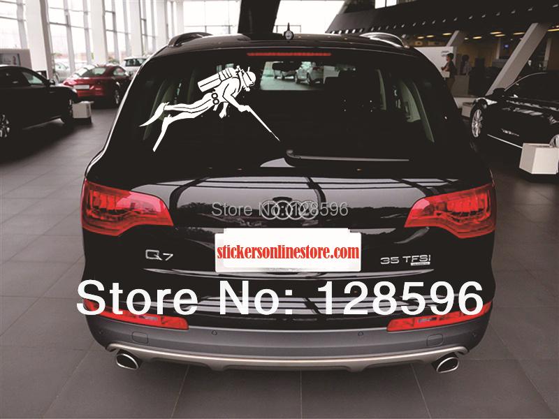 Online Get Cheap Back Window Sticker Aliexpresscom Alibaba Group - Back window stickers for trucks