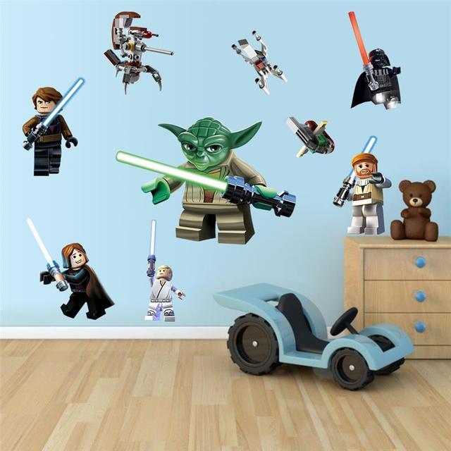 star wars film stickers muraux enfants chambres d 233 coration star wars bedroom theme children s room
