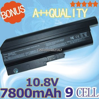 """7800mah laptop Battery For IBM ThinkPad T61p T61 14.1"""" standard screens and 15.4"""" widescreen"""